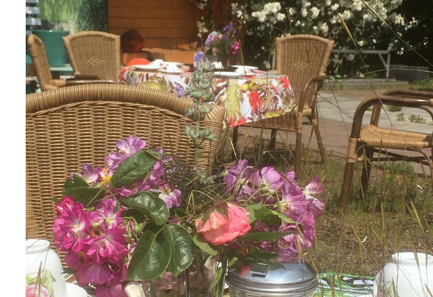 Garten ausflug